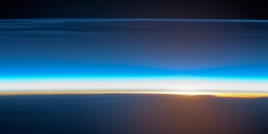 earth observatory sunrise image