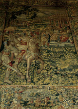 "a Renaissance Brussels Tapestry that inspired ""Alba"", one of my perfumes for DAM"