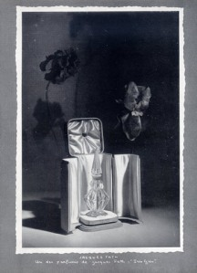 Jacques Fath Perfumes 1949 Iris Gris French Ad vintage